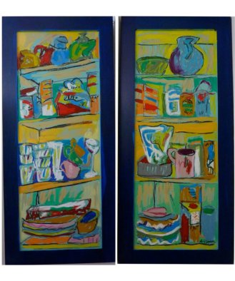 Pantry Diptych